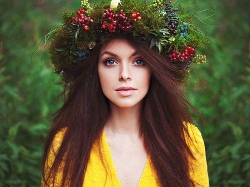 красивые девушки фото на голо