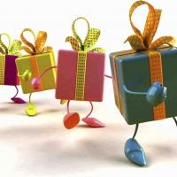 Радость дарить подарки