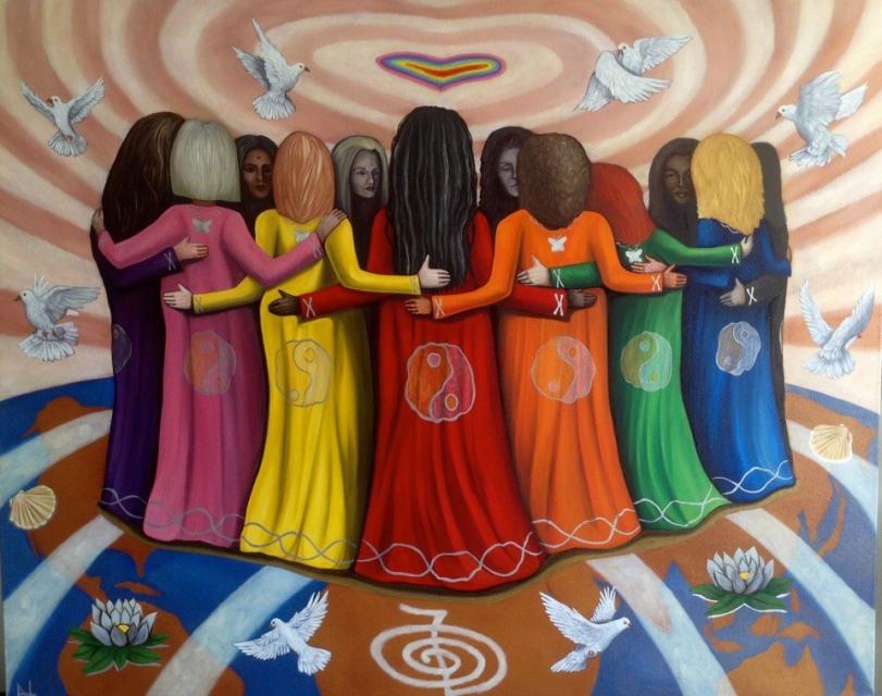 Картинка круг женской силы